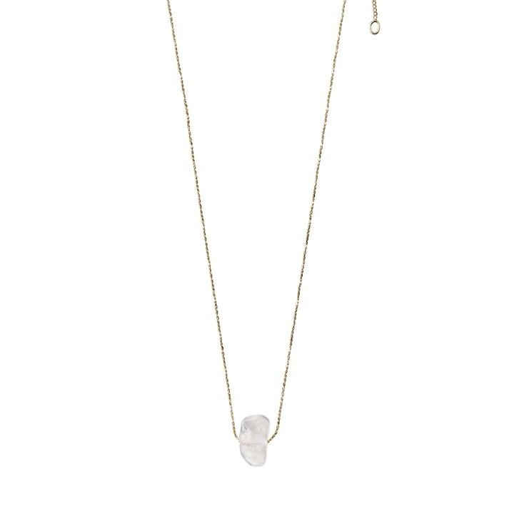 Pilgrim Quartz Crystal Crown Chakra Necklace