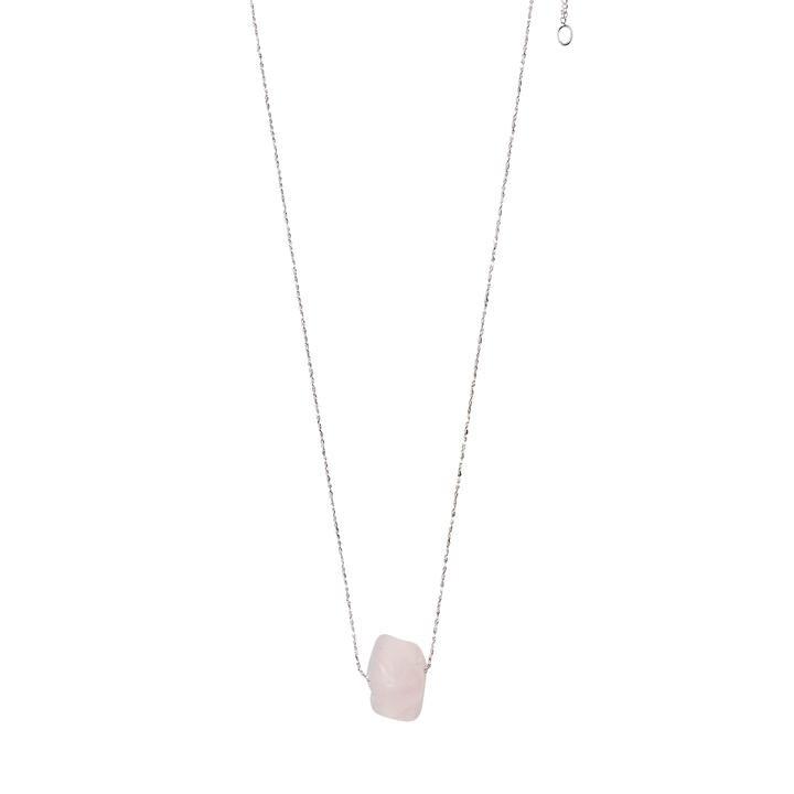 Pilgrim Rose Quartz Heart Chakra Necklace