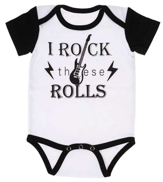 GANZ I Rock These Rolls Onesie