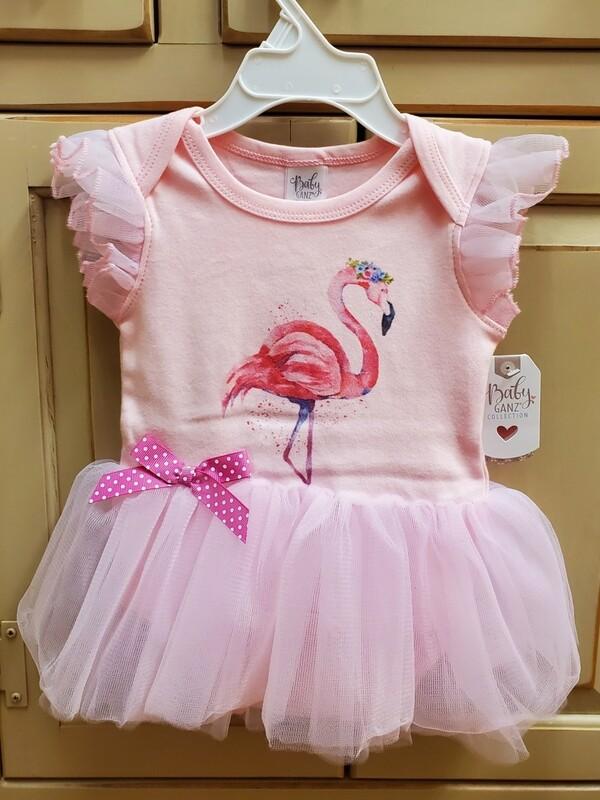 GANZ Pink Flamingo Tutu