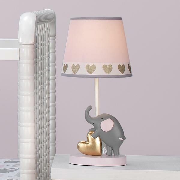 Eloise Nursery Lamp & Shade With Bulb
