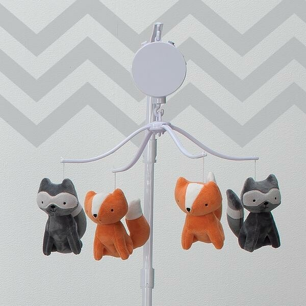 Acorn Musical Baby Crib Mobile