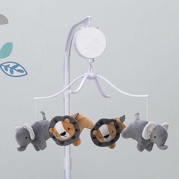 Jungle Fun Musical Baby Crib Mobile