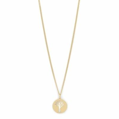 Pilgrim Gold Elin Tree Necklace