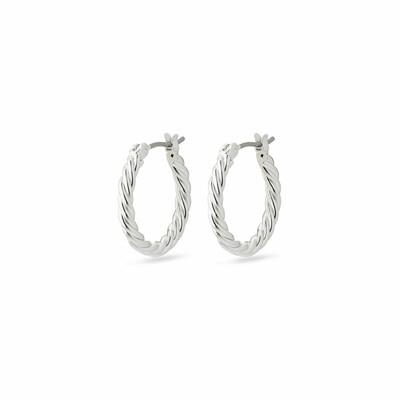 Pilgrim Silver Cece Hoop Earrings