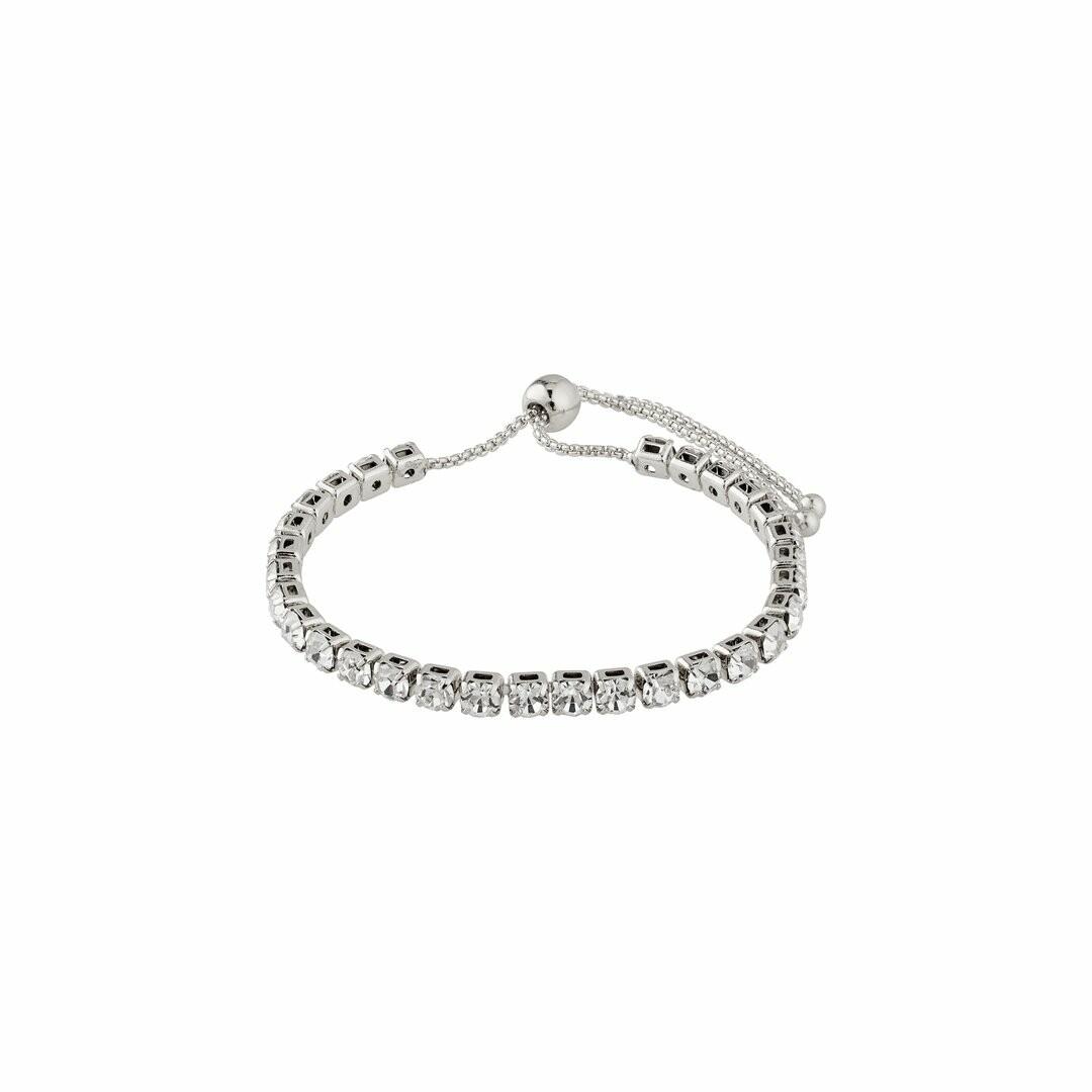 Pilgrim Silver Lucia Crystal Bracelet