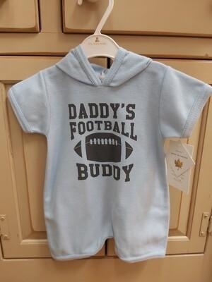 Daddy's Football Buddy Romper