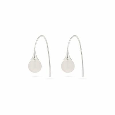 Pilgrim Rose Quartz Earrings