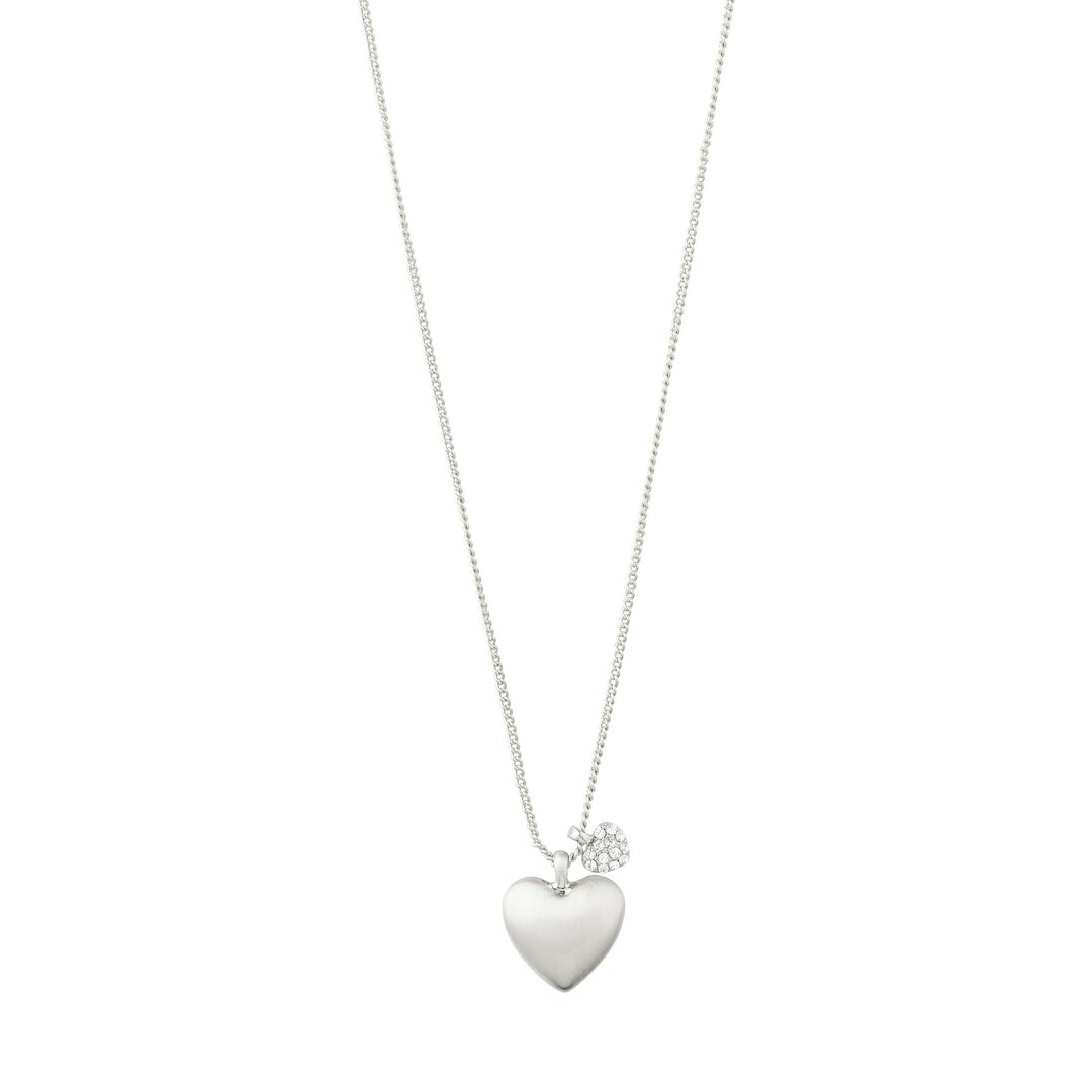 Pilgrim Silver Sophia Heart Necklace