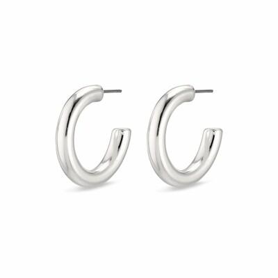 Pilgrim Silver Maddie Hoop Earrings