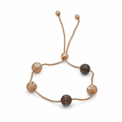 Pilgrim Rose Gold Adjustable Darla Bracelet
