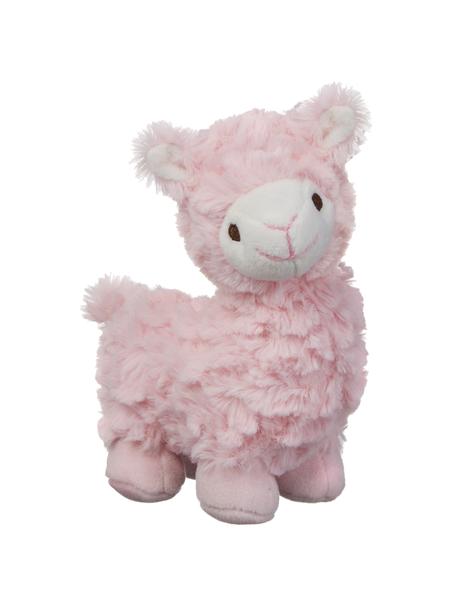 GANZ Lovable Llama Rattle - Pink
