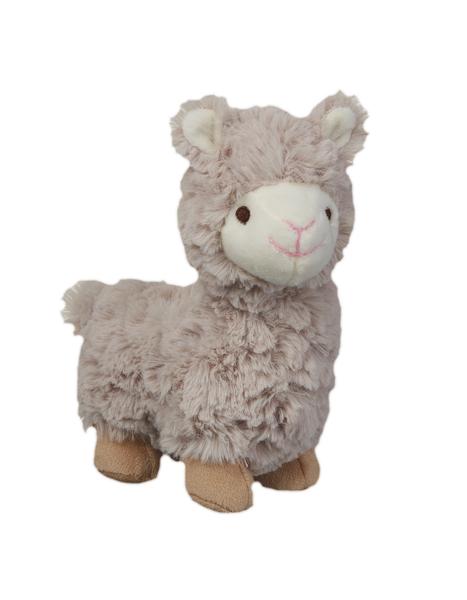 GANZ Lovable Llama Rattle - Brown