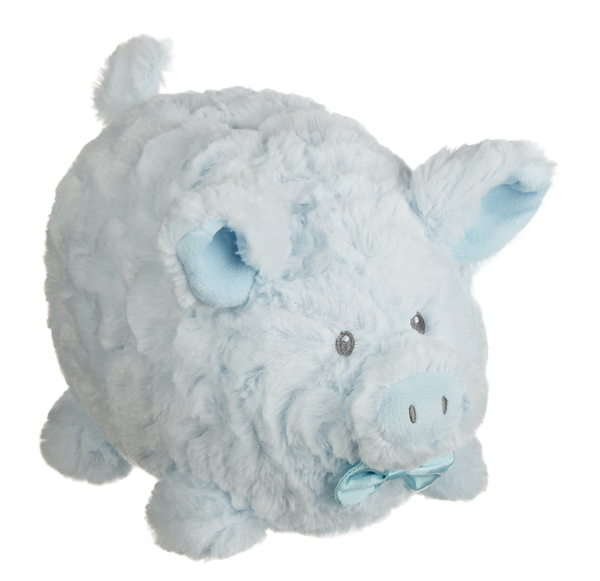 GANZ Payton Plush Piggy Bank - Blue