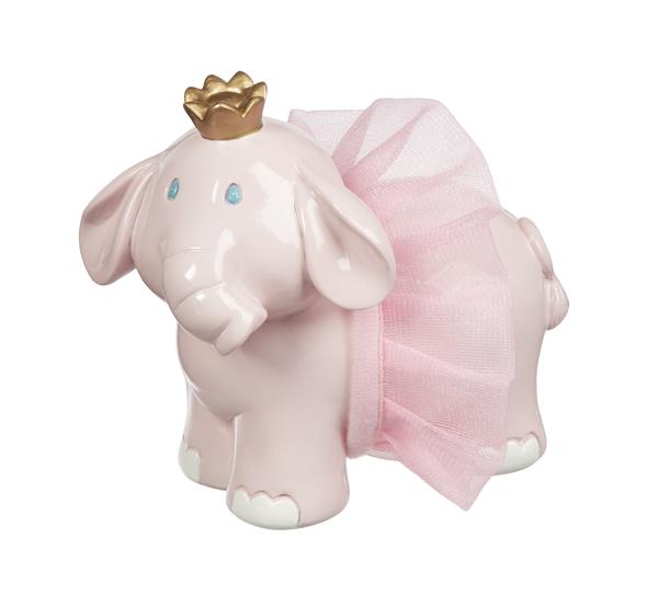 GANZ Princess Elephant Coin Bank