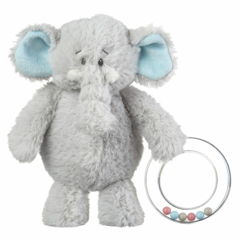 GANZ Elephant Plush Rattle