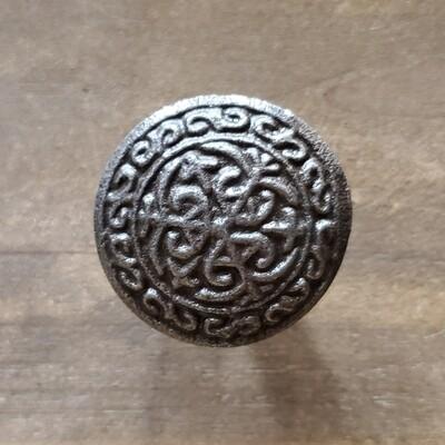 Antiqued Bronze Cast Iron Knob