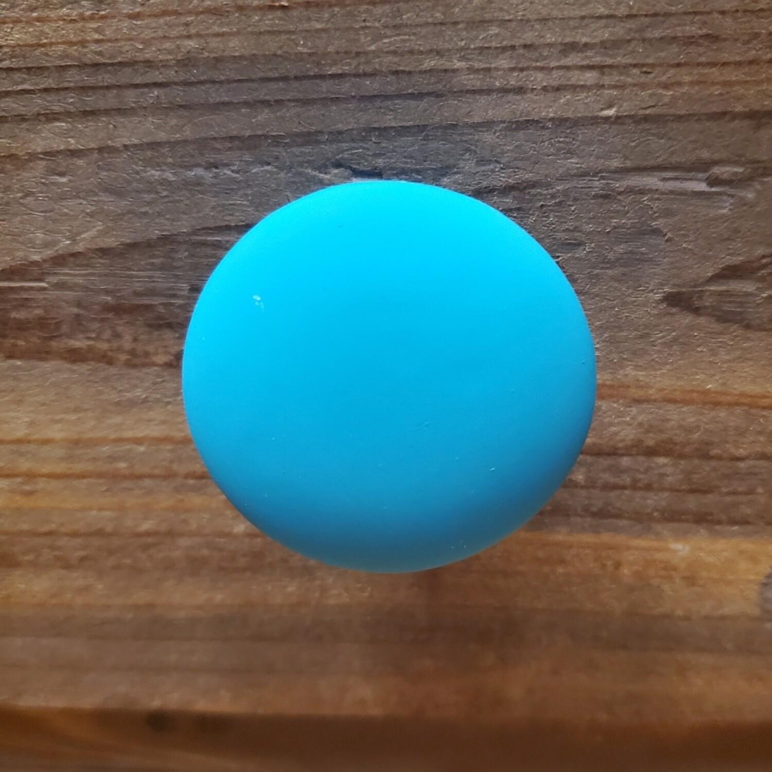 Teal Rubber Knob