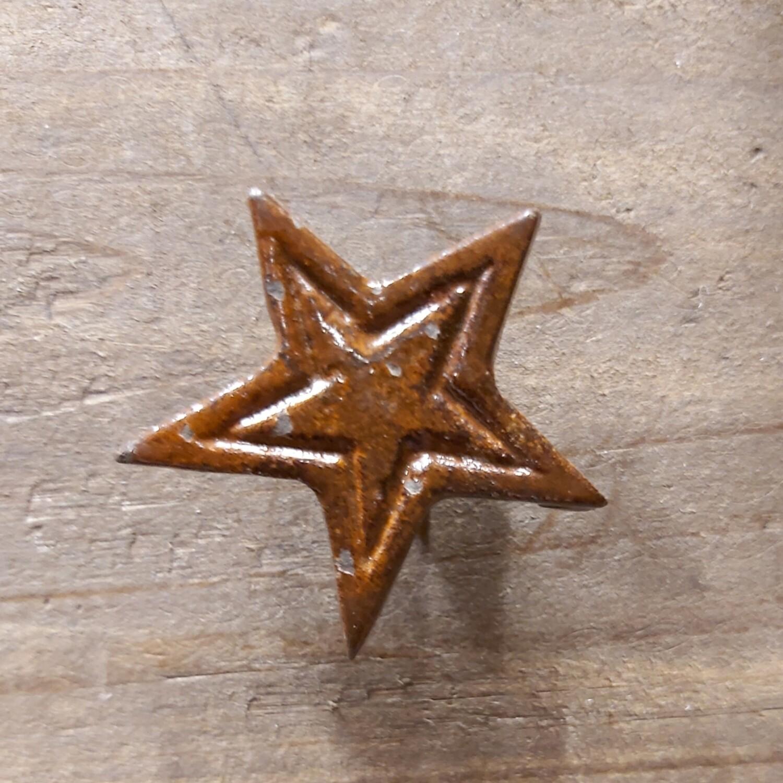 Star Brown Cast Iron Knob