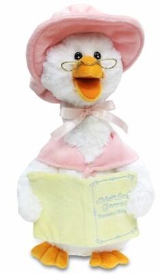 Cuddle Barn Storytelling Mother Goose - (🎵) Pink