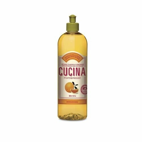Fruits & Passion Cucina 500ml Concentrated Dish Detergent | Sanguinelli Orange and Fennel