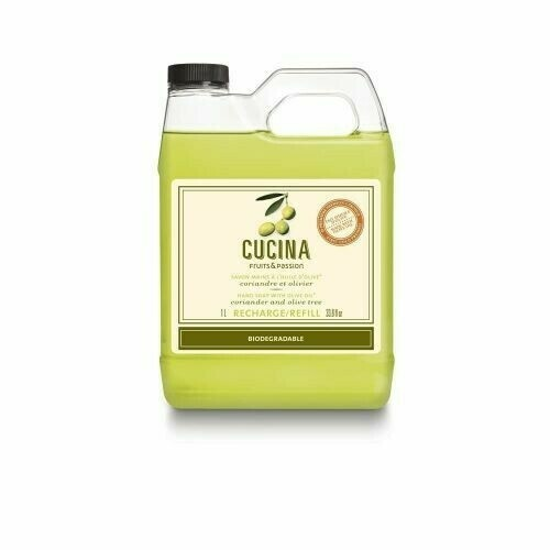 Fruits & Passion Cucina Hand Soap Refill | Coriander and Olive Tree