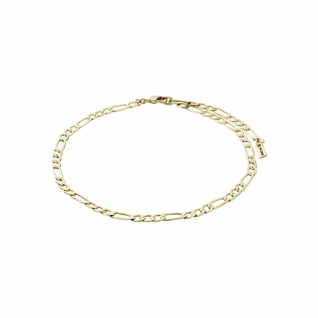 Pilgrim Gold Figaro Ankle Chain