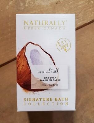 Naturally Upper Canada Bar Soap - Coconut Milk