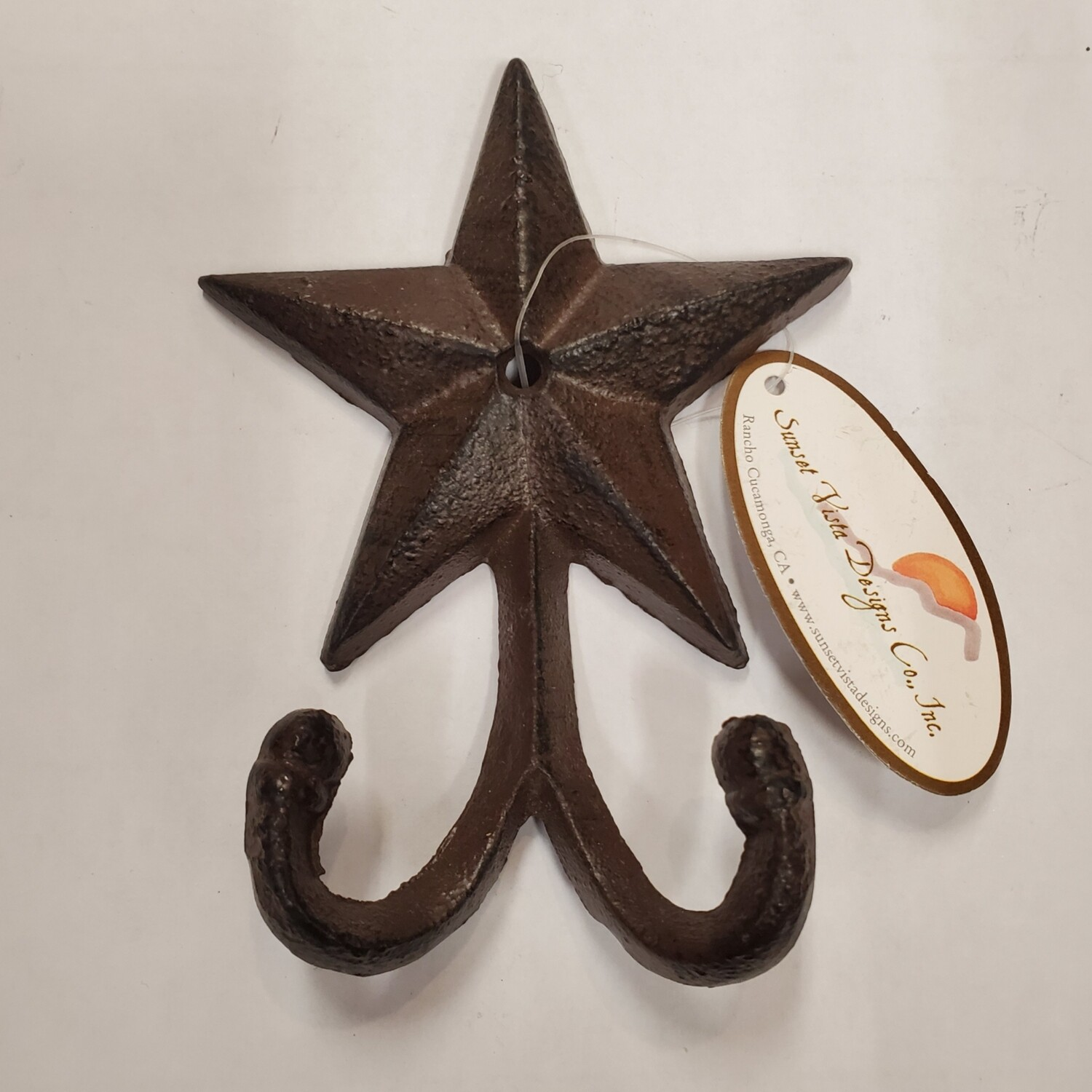 Star Double Hook Brown