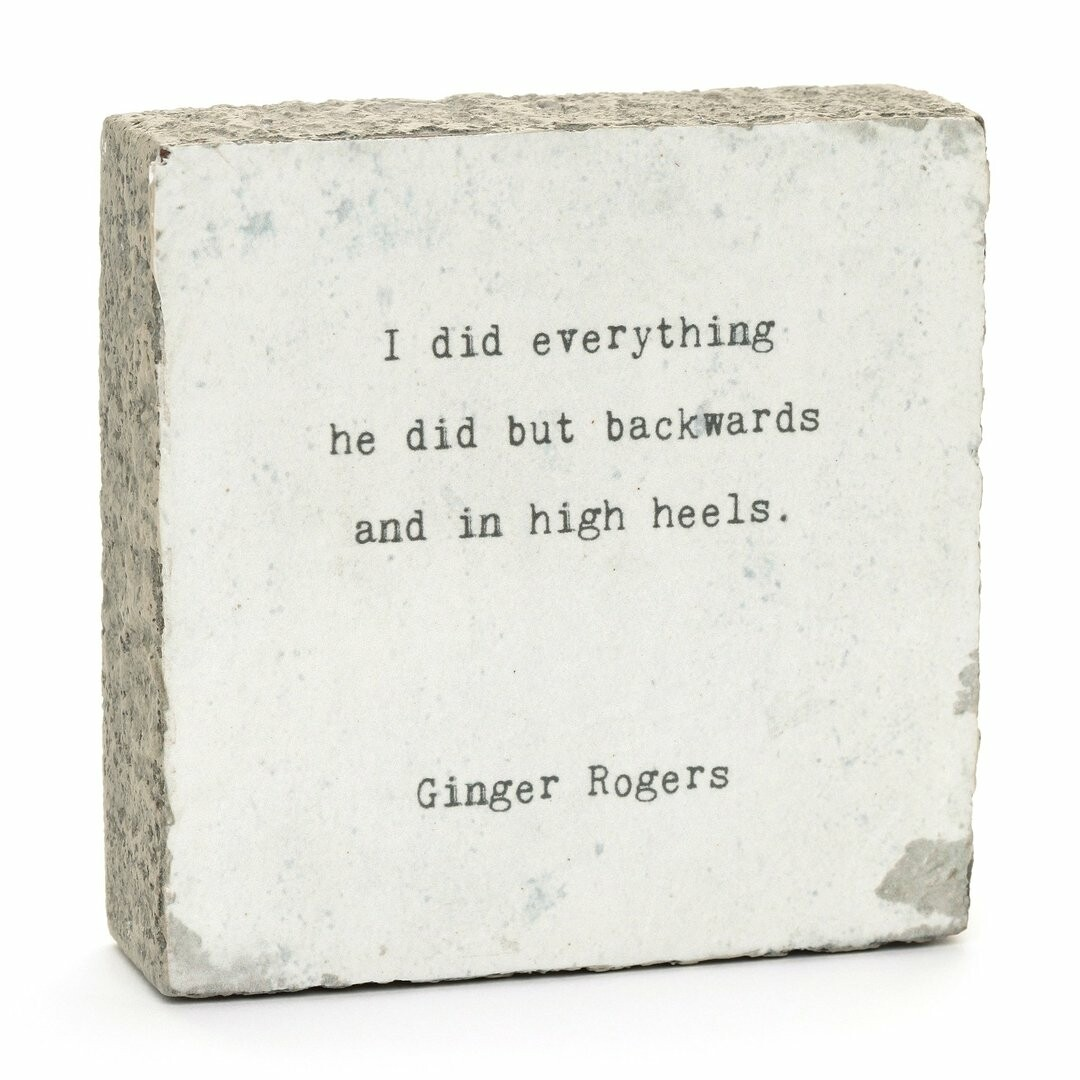 Cedar Mountain Little Gem - I Did Everything (Ginger Rogers)
