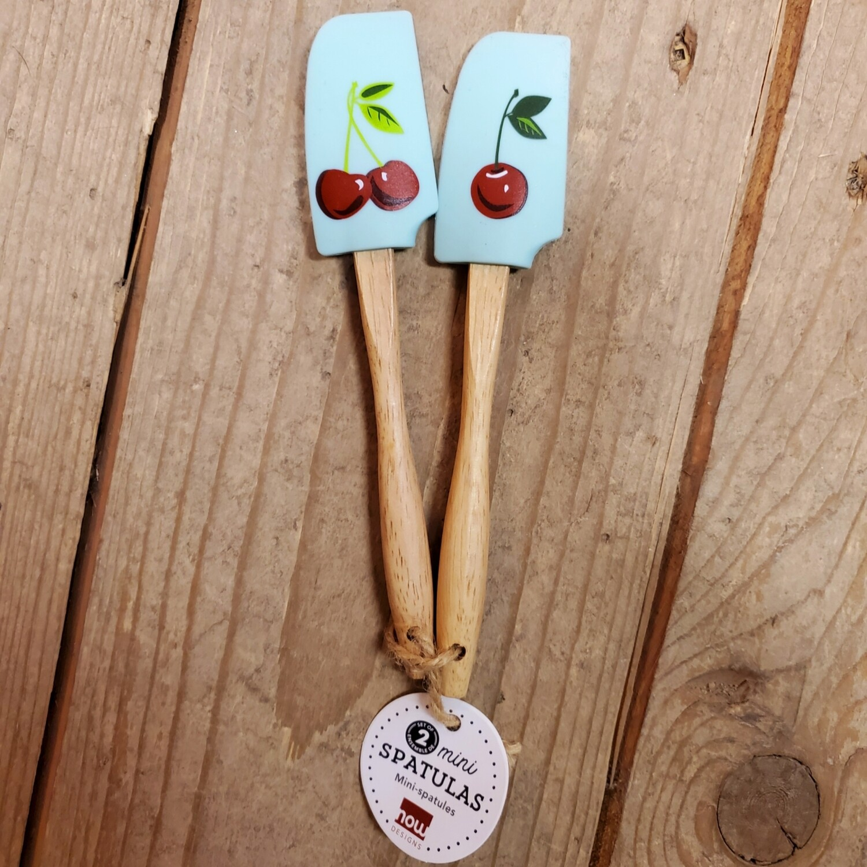 Now Designs Mini Spatulas (Set of 2) | Cherries