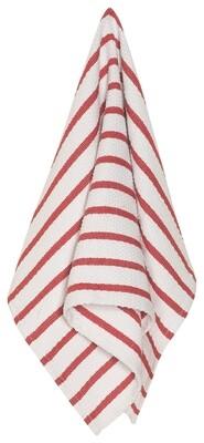 Now Designs Basketweave Dishtowel - Red