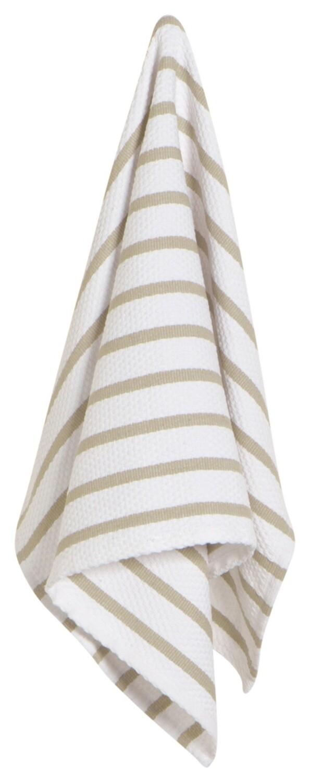 Now Designs Basketweave Dishtowel - Sandstone