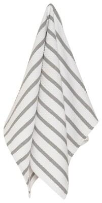 Now Designs Basketweave Dishtowel - London Gray