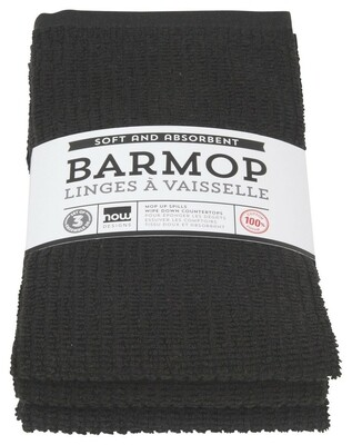 Now Designs Barmop Set of 3   Black