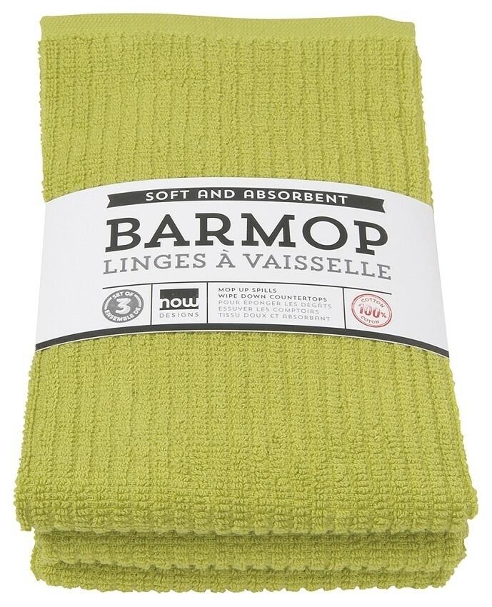 Now Designs Barmop Set of 3 | Cactus