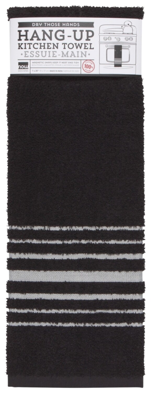Now Designs Hang-Up Dishtowel - Black
