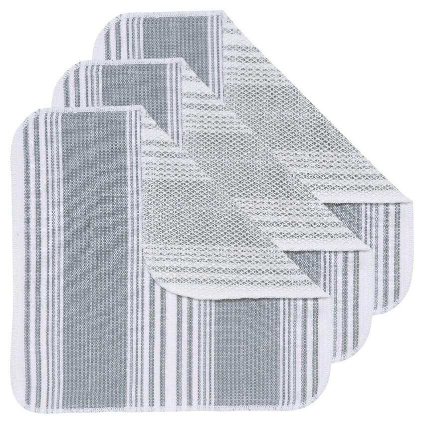 Now Designs Scrub-It Dishcloths (Set of 3) | London Gray