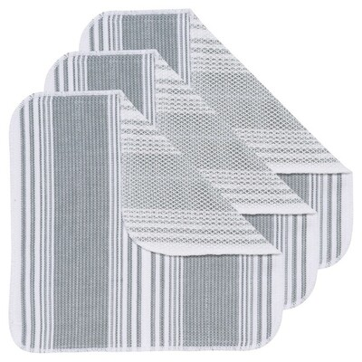 Now Designs Scrub-It Dishcloths (Set of 3) | London Gray