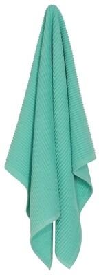 Now Designs Ripple Dishtowel   Lucite Green