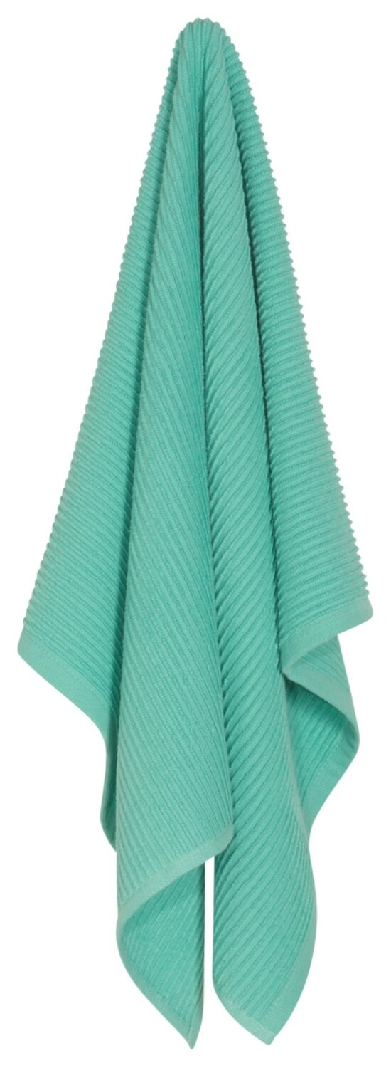 Now Designs Ripple Dishtowel | Lucite Green