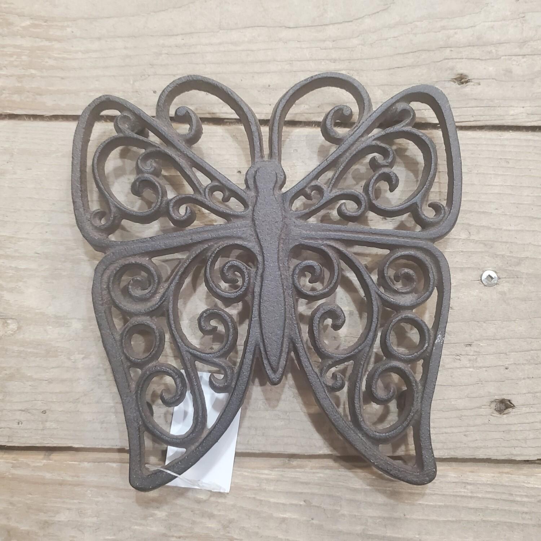 Cast Iron Butterfly Trivet