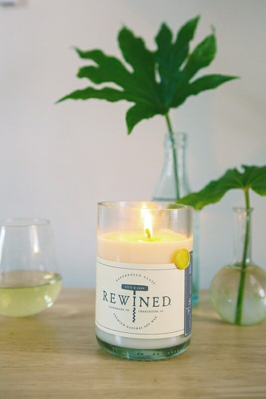 Chenin Blanc Rewined Candle