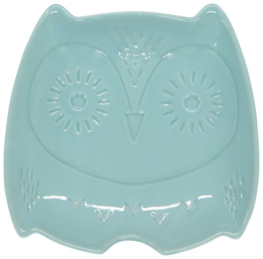 Now Designs Oliver Owl Shaped Spoon Rest