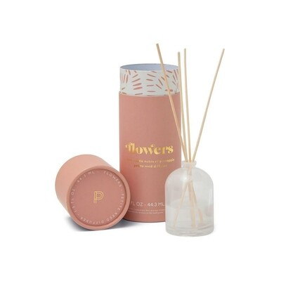 Paddywax Petite Reed Diffuser | Flowers