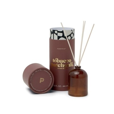 Paddywax Petite Reed Diffuser | Tobacco Patchouli