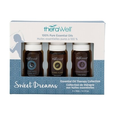 TheraWell Essential Oil 3 Pack | Sweet Dreams