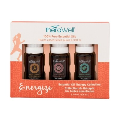 TheraWell Essential Oil 3 Pack | Energize