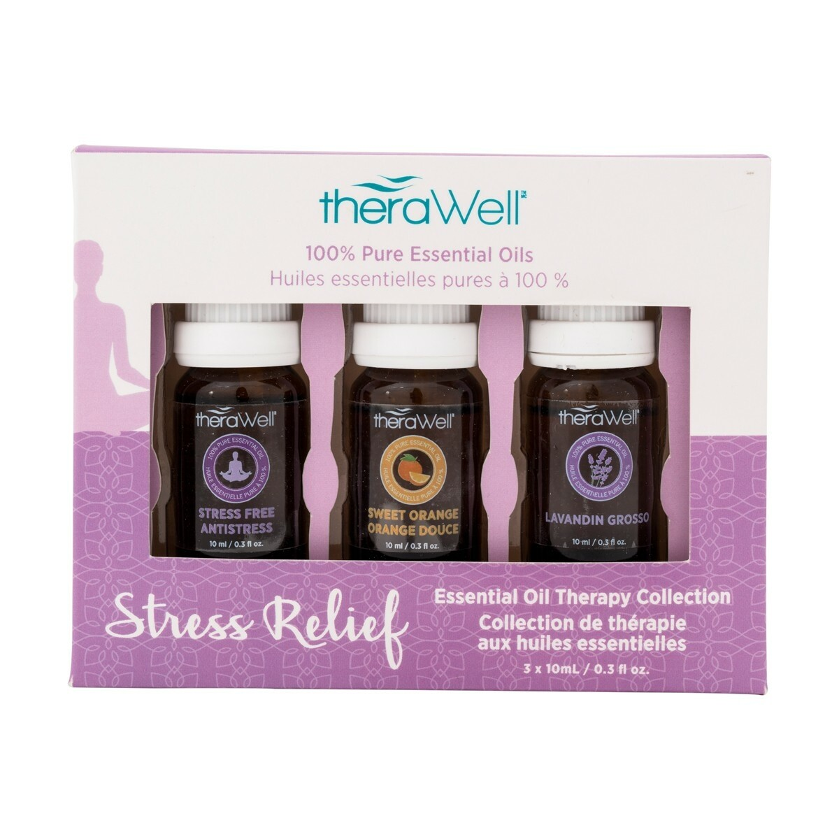 TheraWell Essential Oil 3 Pack | Stress Relief