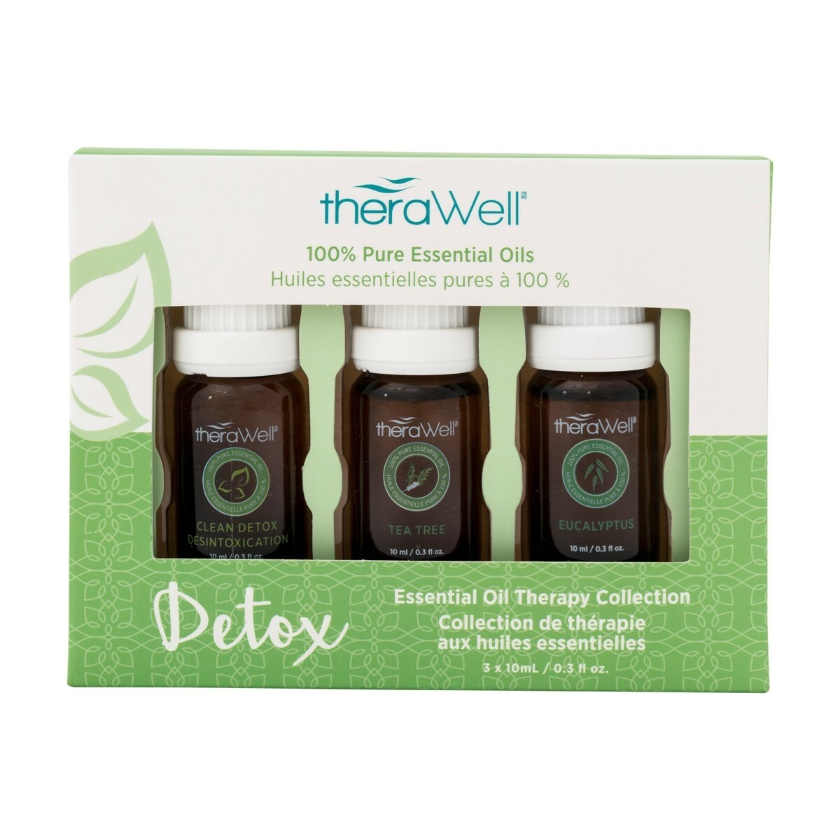 TheraWell Essential Oil 3 Pack | Detox